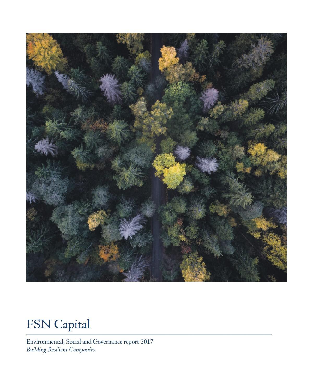 FSN Capital ESG report 2017