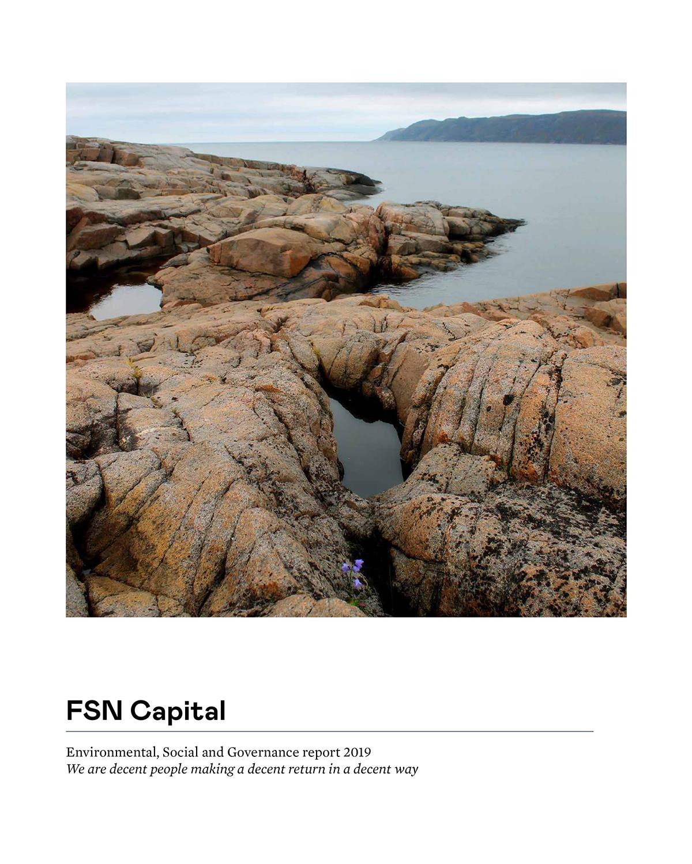 FSN Capital ESG report 2019